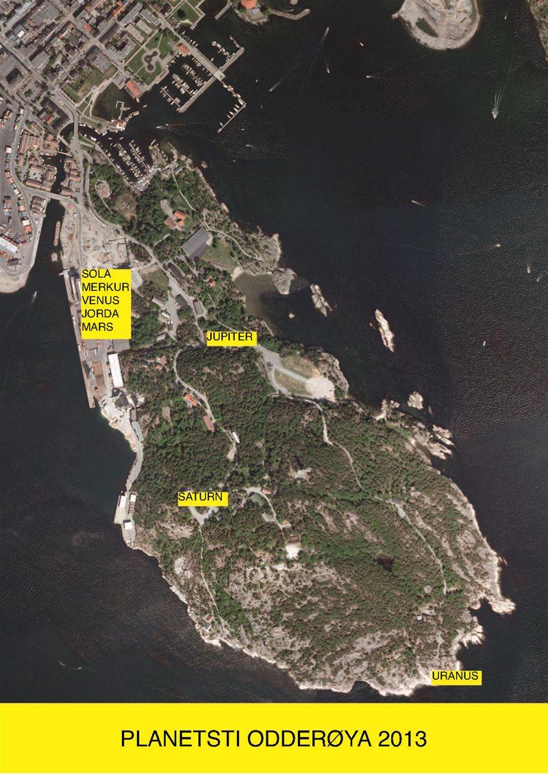 kart over odderøya Odderøya   Planetsti på Odderøya kart over odderøya